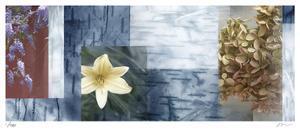 Blue Mosaic II by Michelle Joyce