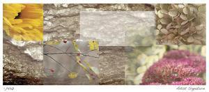 Yellow Mosaic IV by Michelle Joyce
