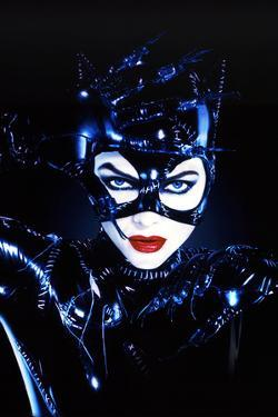 "MICHELLE PFEIFFER. ""BATMAN RETURNS"" [1992], directed by TIM BURTON."