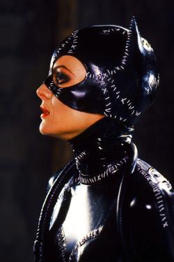 "MICHELLE PFEIFFER. ""BATMAN RETURNS"" [1992], directed by TIM BURTON."