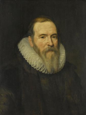 Portrait of Johan Van Oldenbarnevelt by Michiel Jansz van Mierevelt