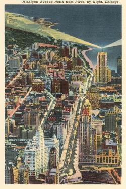 Michigan Avenue by Night, Chicago
