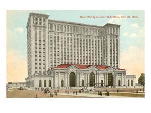 Michigan Central Station, Detroit, Michigan