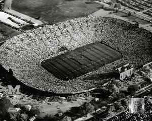 Michigan Stadium - 1955
