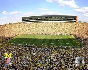 Michigan Stadium University of Michigan Wolverines 2009