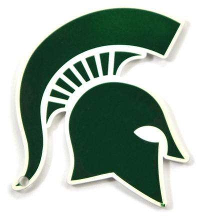 Michigan State Spartans Steel Magnet