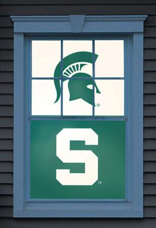 Michigan State University Sparty Dual WOWindow Poster
