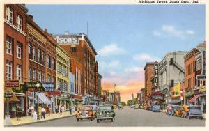 Michigan Street, South Bend, Indiana