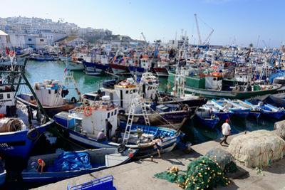 Fishing Harbour, Tangier, Morocco, North Africa, Africa