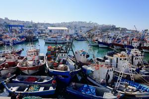 Fishing Harbour, Tangier, Morocco, North Africa, Africa by Mick Baines & Maren Reichelt