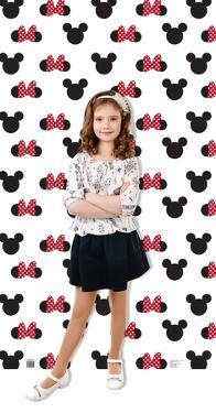 Mickey and Minnie Ears Step and Repeat Cardboard Cutout