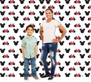 Mickey and Minnie Ears Step and Repeat - Double Wide