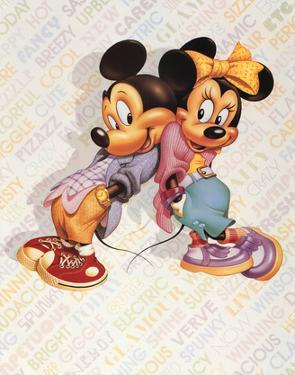 Mickey and Minnie Mouse Cool