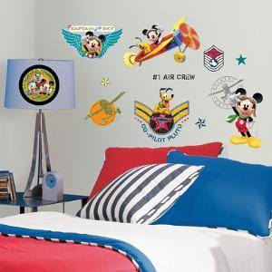 Mickey & Friends - Clubhouse Pilot Peel & Stick Wall Decals