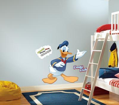 Mickey & Friends - Donald Duck Peel & Stick Giant Wall Decal