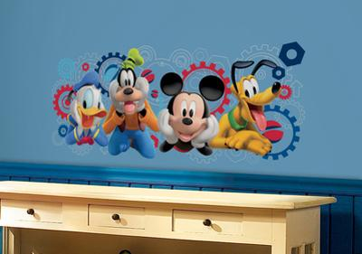 Mickey & Friends - Mickey Mouse Clubhouse Capers Peel and Stick Giant Wall Decals
