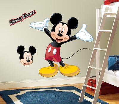 Mickey   Friends   Mickey Mouse Peel   Stick Giant Wall Decal. Mickey Mouse Posters at AllPosters com