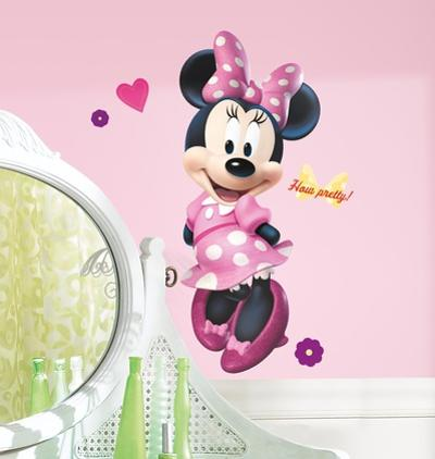 Mickey & Friends - Minnie Bow-tique Peel & Stick Giant Wall Decal