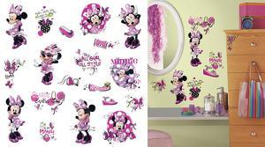 Mickey & Friends - Minnie Fashionista Peel and Stick Wall Decals