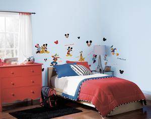 Mickey & Friends Peel & Stick Wall Decals