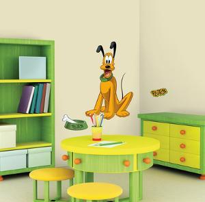 Mickey & Friends - Pluto Peel & Stick Giant Wall Decal