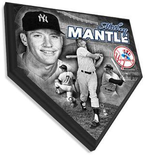 Mickey Mantle Home Plate Plaque