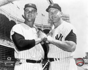 Mickey Mantle & Roger Maris Posed