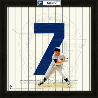 Mickey Mantle, Yankees representation of the player's jersey