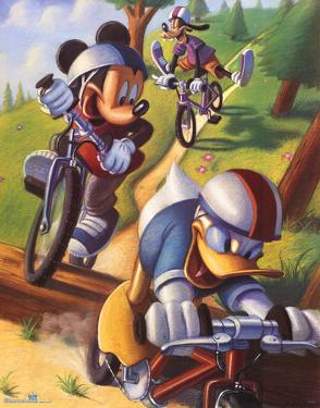 Mickey Mouse and Friends Biking