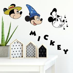 Mickey Mouse Classic 90Th Anniversary Peel And Stick Wall Decals