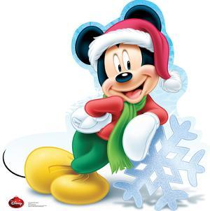 Mickey Mouse Holiday - Disney Lifesize Standup