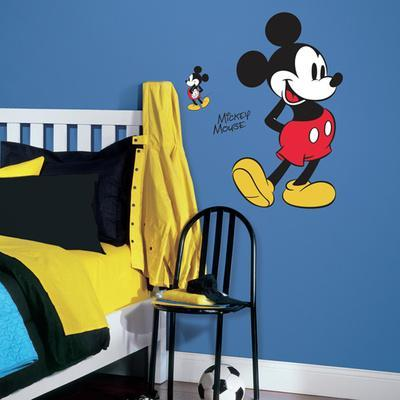 Exceptionnel Mickey Mouse Peel And Stick Giant Wall Decals