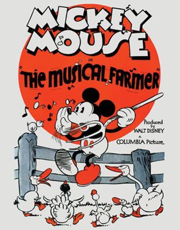 Mickey Mouse - The Musical Farmer