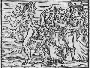 Adoration of the Devil, 17th Century by Middle Temple Library