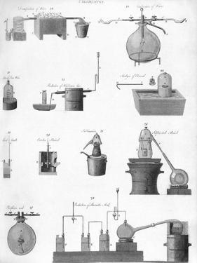 Chemistry Equipment, 19th Century by Middle Temple Library