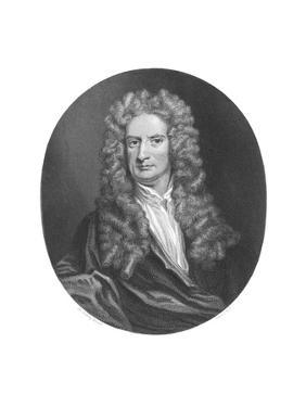 Issac Newton, English Physicist by Middle Temple Library