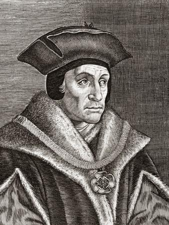 Sir Thomas More, English Statesman