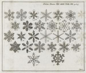 Snowflake Research, 18th Century by Middle Temple Library