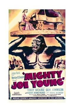 Mighty Joe Young - Movie Poster Reproduction
