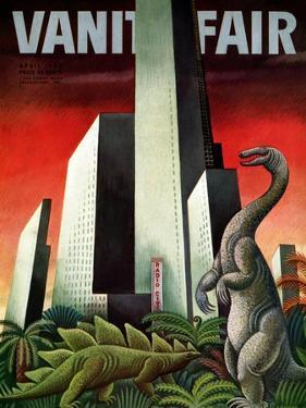 Vanity Fair Cover - April 1933 by Miguel Covarrubias