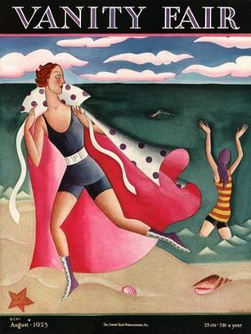 Vanity Fair Cover - August 1925 by Miguel Covarrubias