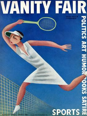 Vanity Fair Cover - August 1932 by Miguel Covarrubias