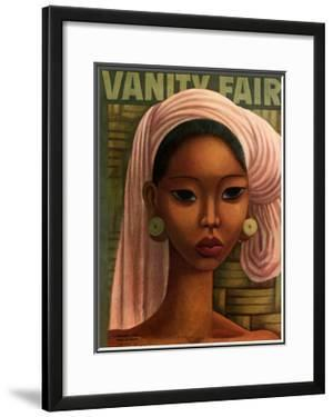 Vanity Fair Cover - February 1936 by Miguel Covarrubias