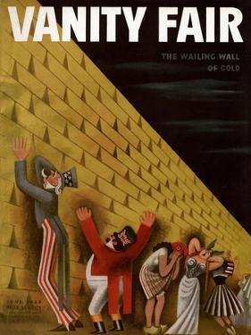 Vanity Fair Cover - June 1933 by Miguel Covarrubias