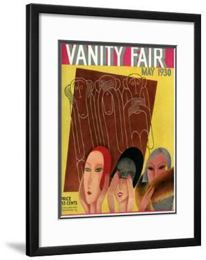 Vanity Fair Cover - May 1930 by Miguel Covarrubias