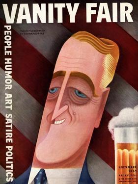 Vanity Fair Cover - September 1932 by Miguel Covarrubias