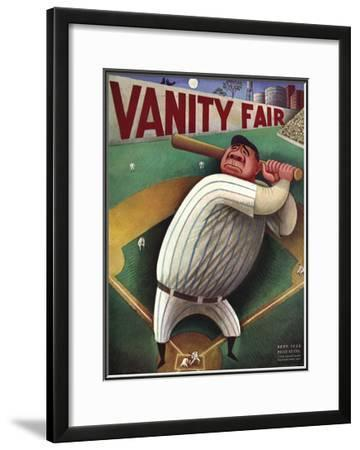 Vanity Fair Cover - September 1933 by Miguel Covarrubias