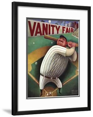 Vanity Fair Cover - September 1933 by Miguel Covarrubias