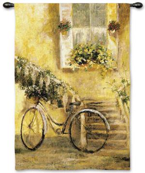 Courtyard Bicycle by Miguel Dominguez
