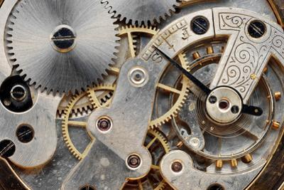 Vintage Clock Machinery by MIGUEL GARCIA SAAVED